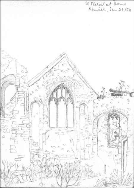 Mary Wright (st-michael-at-thorn sketch)