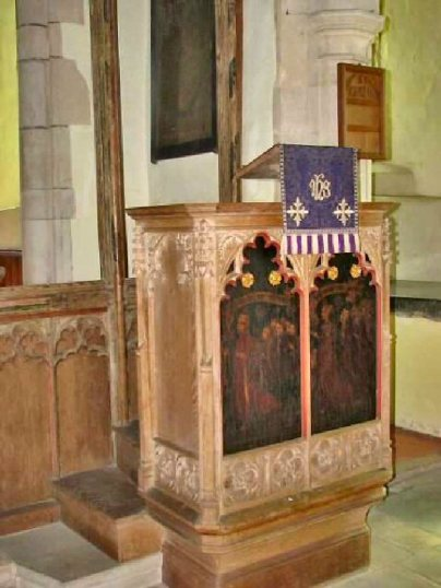 Wolterton Hall (Pulpit)