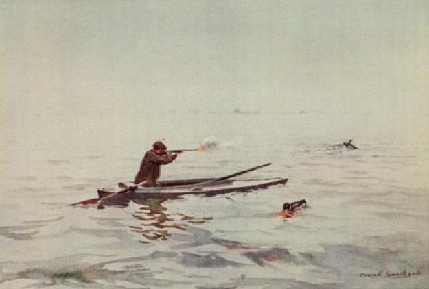 Breydon Water (Punt Gunning)