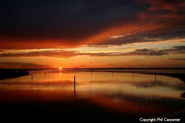 Breydon Water Sunset
