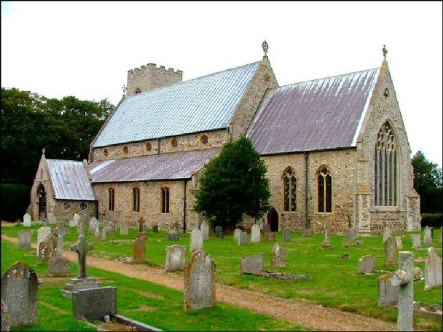 Hunstanton Hall (St Marys Church)