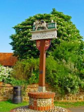Hunstanton Hall (Village Sign) 1
