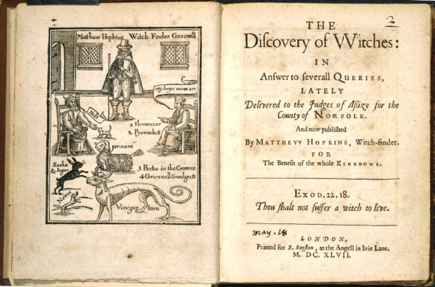 Matthew Hopkins (Discovery of Witches)