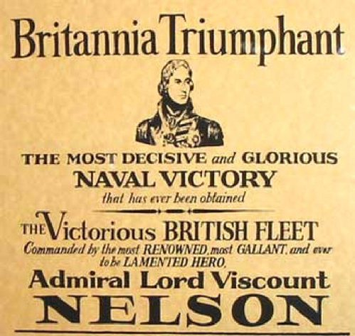 Nelson Pickled (Battle_of_Trafalgar_Poster_1805)