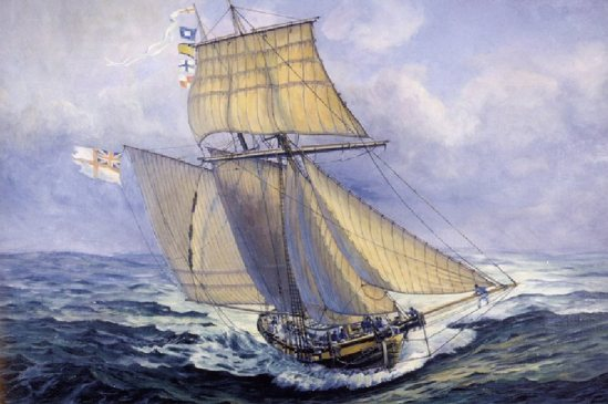 Nelson Pickled (HMS Pickle-replica)