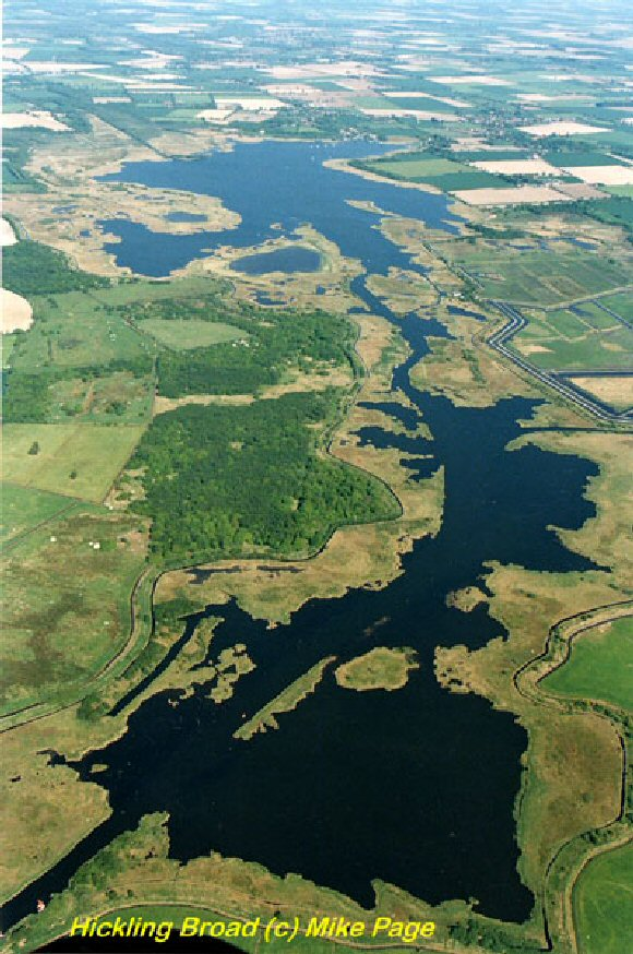Norfolk Broads (Ariel View)