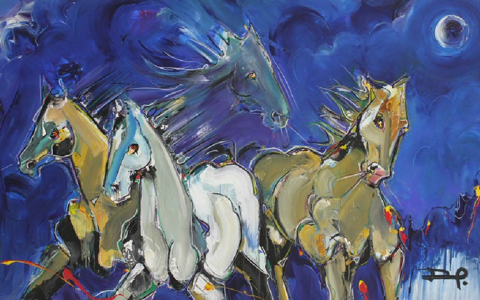 A Ghostly Tale: Phantom Horses!