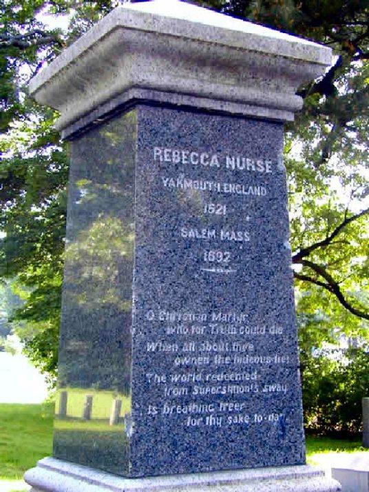 Rebecca Nurse (Memorial)