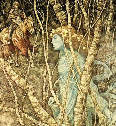 Halloween (The Elfin Maid by Brian Froud)
