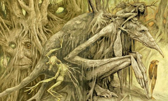 Halloween (Trolls by Brian Froud)