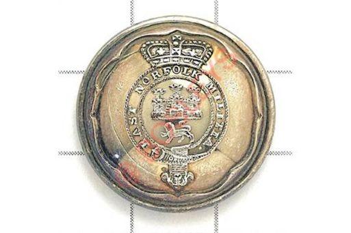 Norfolk Militia (East Norfolk Button)