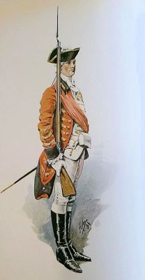 Norfolk Militia (Officer 1759)
