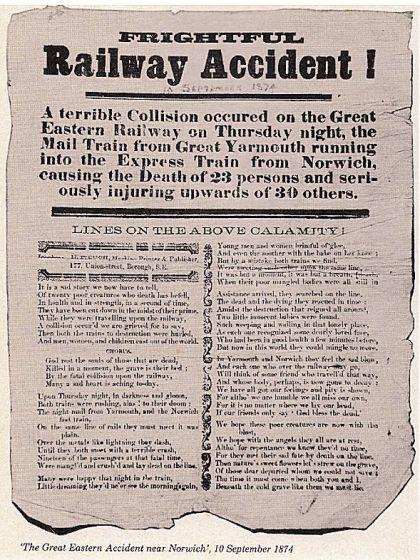 Norfolk Militia (Rail Accident 1874)