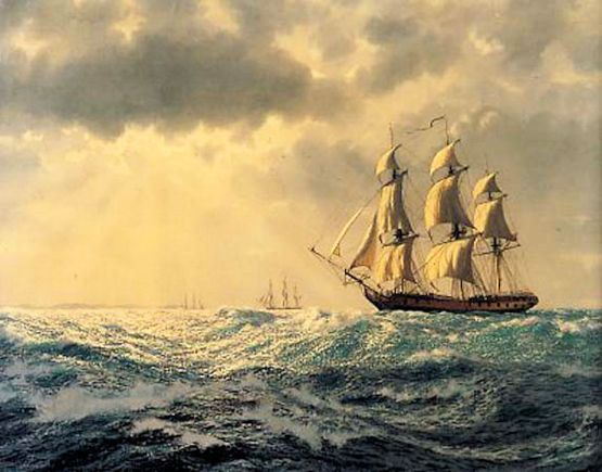 Adam - Mary Ann (Ships at Sea_Art Marine)