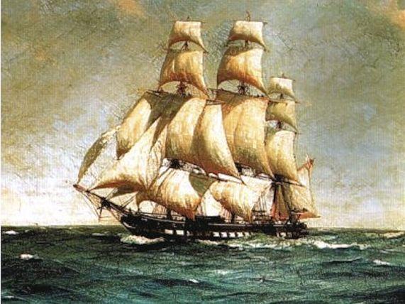 HMS Lutine (A Magicienne-class frigate)1