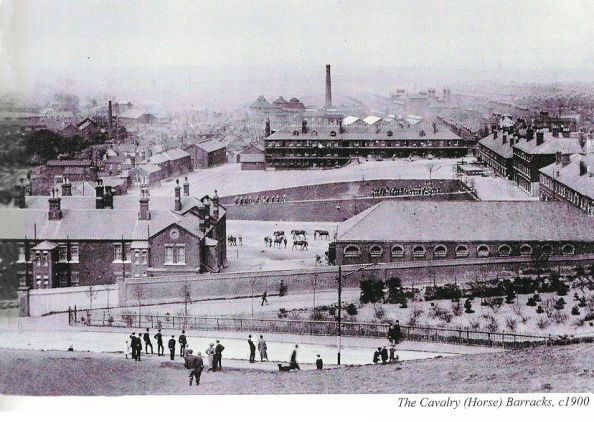 Norwich Tramway (Cavalry Barracks 1900)