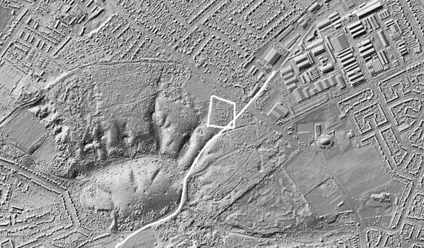 Norwich Tramway (Mousehold - Lidar)