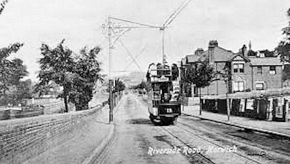 Norwich Tramway (Tram Riverside)