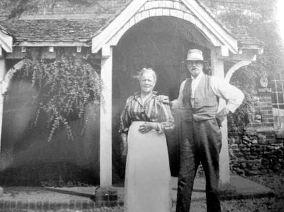 Flitcham Witch (Publicans Edward & Mary (Polly) Cocks c. 1930)1