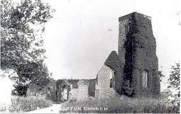 Hopton 5 (St Margaret's Church Ruins)