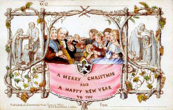 Modern Christmas (Victorian-Cards)