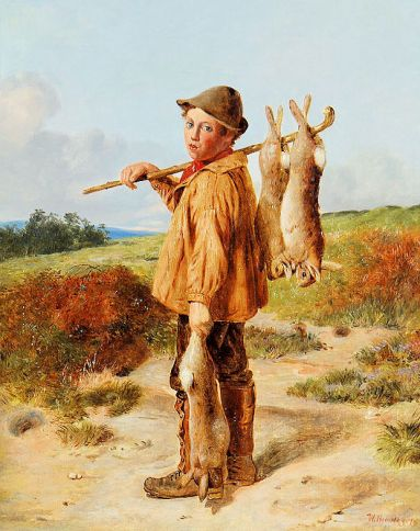 Poacher (William_Hemsley_The_young_poacher_1874)