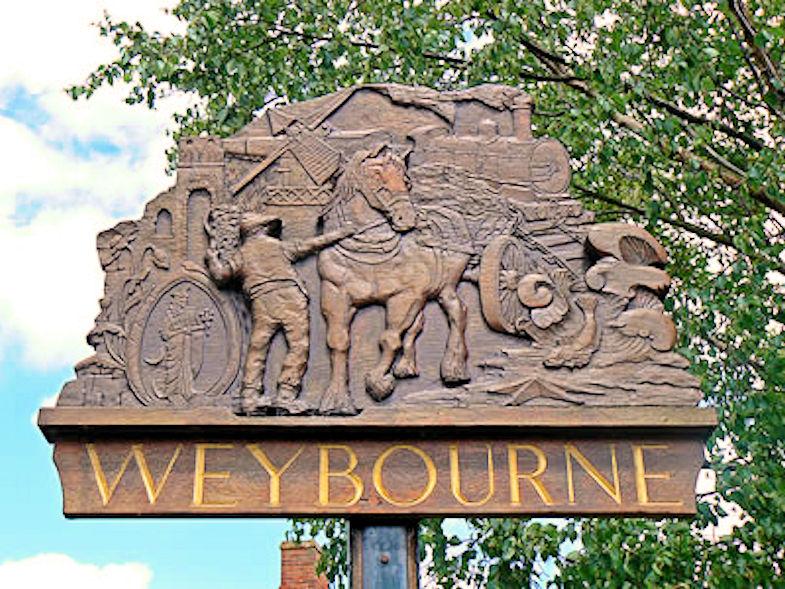 Weybourne Walk (Village Sign)