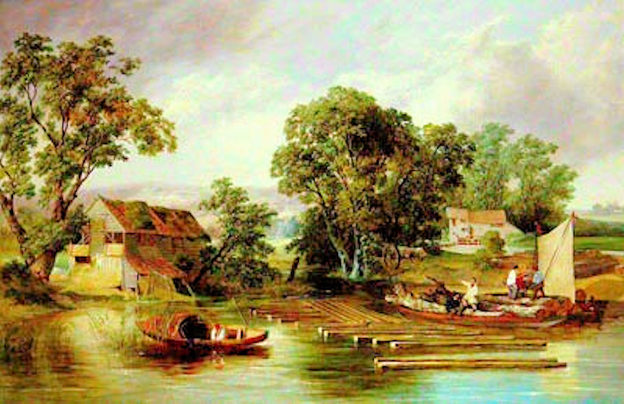 Swing Riots (Taverham Mill_Alfred Priest 1839)1