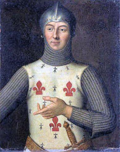 Battle of Sluys (Hugues-Quiéret)