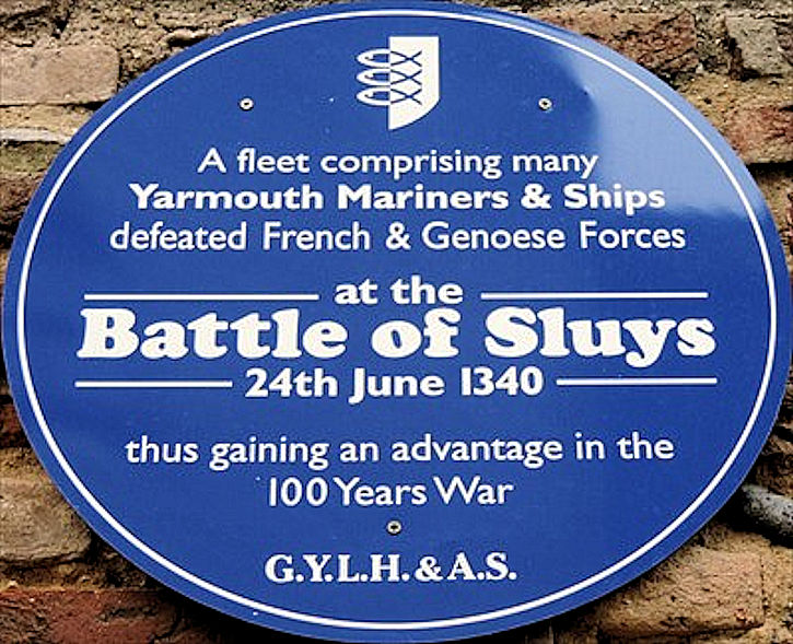 Battle of Sluys (Plaque)
