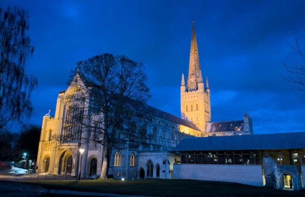 Ghostly Norfolk (Cathedral by Night)