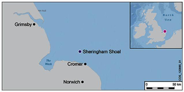 HMS Umpire (Shoal Map)