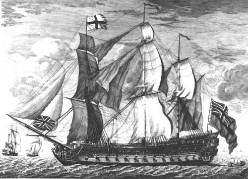 The Fate of HMS Invincible –1801