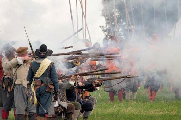 Norwich Gates (Battle of Gainsborough)