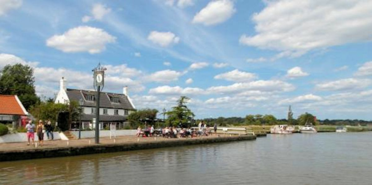 Reedham Ferry and Inn Revisited.
