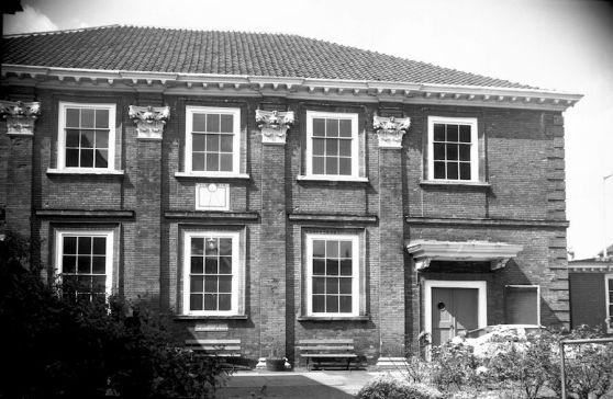 Old Meeting House, Colegate, Norwich. (c) George Plunkett 1981