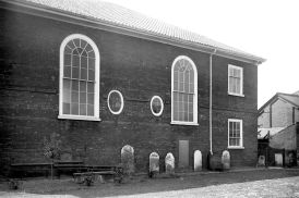 Old Meeting House, Colegate, Norwich. (c) George Plunkett 1933