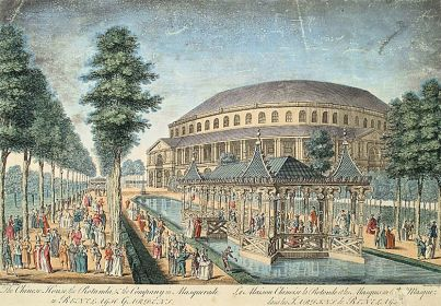 External view of Chelsea's 18th century Ranelagh Gardens