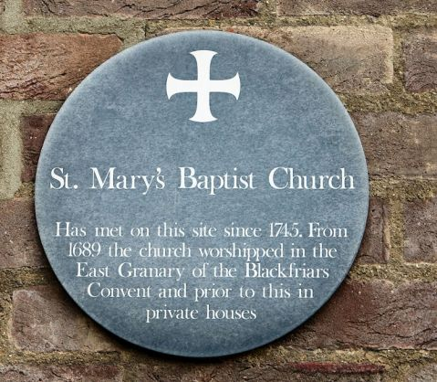 Mr Marten ( St Marys Baptist Plaque)1