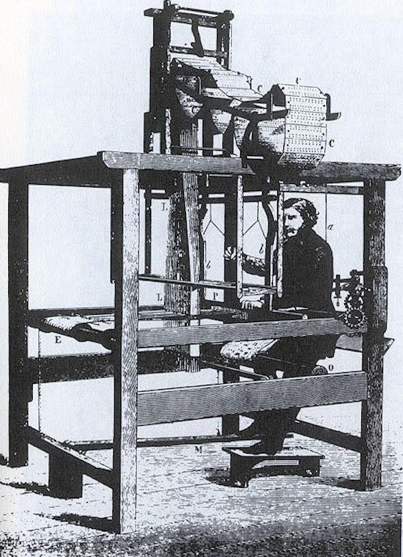 Norwich Shawls (jacquard-loom)1