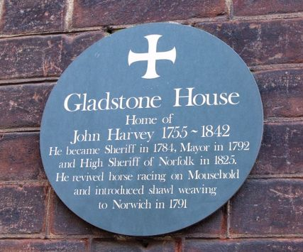 Norwich Shawls (John Harvey Plaque)