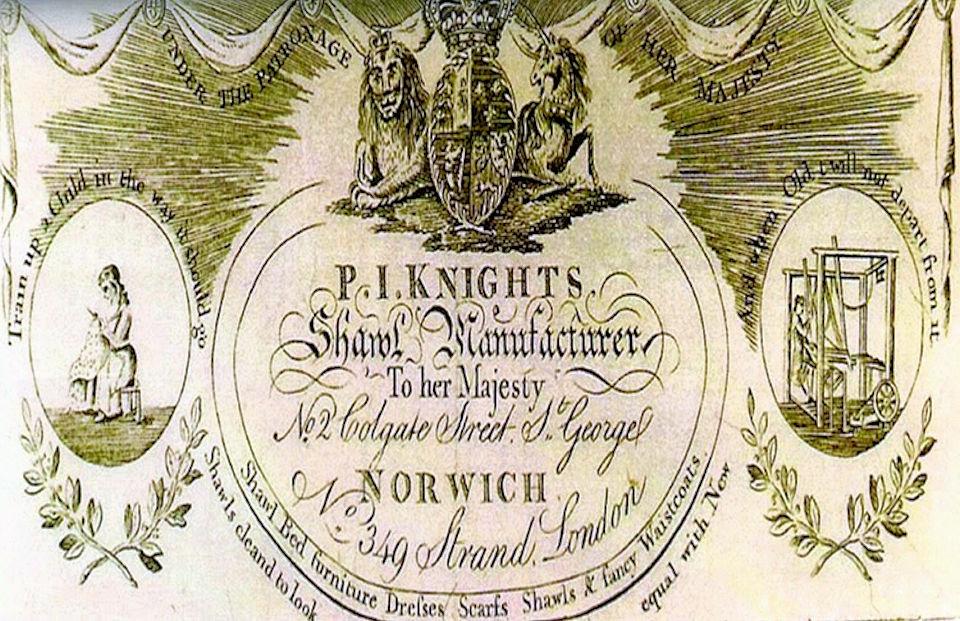 Norwich Shawls (Pattern Book)1
