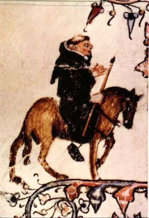 Erpingham (Friar on horse)