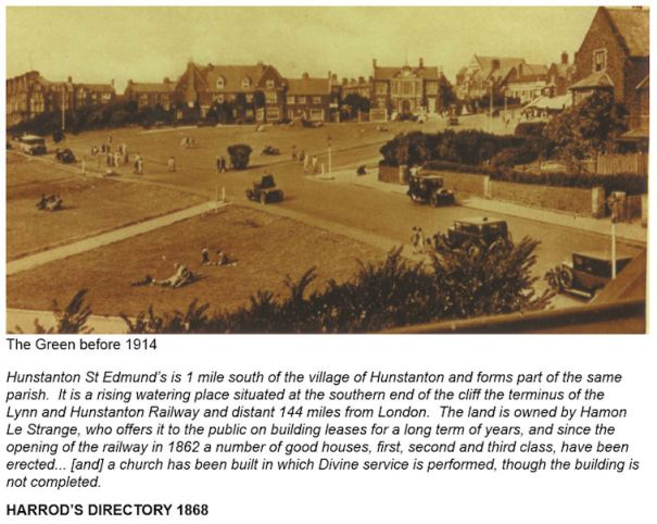 Hunstanton (The Green before 1914)