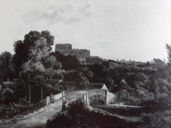 River Wensum (19th C Norwich Castle)1