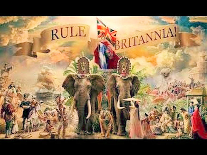 Norfolk Regiment's 'Rule Britania'