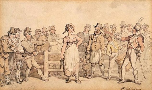 Wife Selling (Rowlandson,_Thomas_1812-14)1