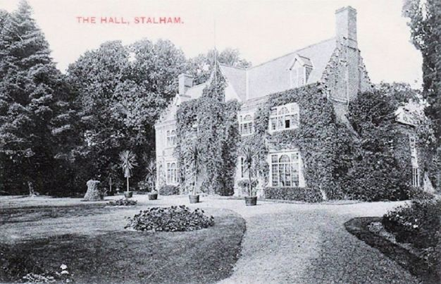 Peat Cutting (stalham hall 1910)