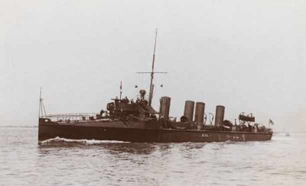Yarmouth Raid (HMS_Arab_Lively)