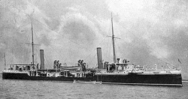 Yarmouth Raid (HMS_Halcyon)
